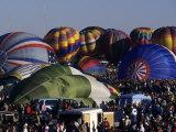 Ballooning, Albuquerque, Nm, Albuquerque, New Mexico, USA Photographic Print by Paul Sutton