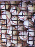 Baseballs Photographic Print