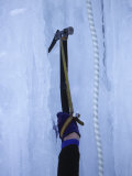 Man Ice Climbing, Detail of Equipment Photographic Print by Chris Trotman