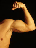 Detail of Male's Arm and Shoulder Photographic Print by Chris Trotman