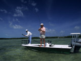 Fisherman in the Florida Keys, Florida, USA Photographic Print