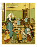 Creche of Sister Rosalie Giclee Print by Thomas Crane