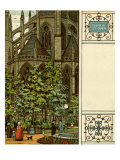 Rouen, Church of St-Ouen, France Giclee Print by Thomas Crane