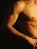 Detail of Male's Arm and Torso Photographic Print by Chris Trotman