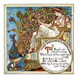 The Peacock's Complaint Giclee Print by Walter Crane