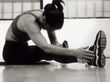 Woman Stretching During a Workout, New York, New York, USA Photographic Print by Paul Sutton
