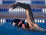 Male Swimmer in Action Photographic Print
