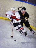 Iice Hockey Players in Action Photographic Print