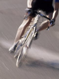 Detail of Road Cyclist Fotografie-Druck
