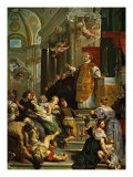 Glory of St Ignatius of Loyola (1616) by Ruben, Founder of the Jesuit order Giclee Print by Peter Paul Rubens