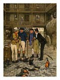 The Posthumous Papers Of The Pickwick Club by Charles Dickens Giclee Print by Cecil Aldin