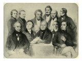 Provisional Government of the Second French Republic Giclee Print by Achille Deveria