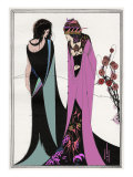 John and Salome Giclee Print by Aubrey Beardsley
