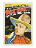 Hittin' the Trail, Tex Ritter, 1937 Photo