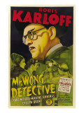 Mr. Wong, Detective, Evelyn Brent, Boris Karloff, 1938 Photo
