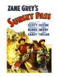 Sunset Pass, 1933 Prints