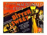 Bitter Sweet, Nelson Eddy, Jeanette Macdonald, 1940 Print