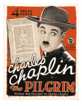 The Pilgrim, Charles Chaplin, (Aka Charlie Chaplin), 1923 Photo