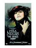 The Devil&#39;s Pawn (Aka Der Gelbe Schein), Pola Negri, 1918 Posters