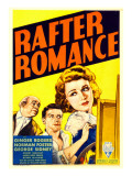 Rafter Romance, George Sidney, Norman Foster, Ginger Rogers on Midget Window Card, 1933 Prints
