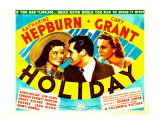 Holiday, Katharine Hepburn, Cary Grant, Doris Nolan, 1938 Photo