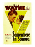 Somewhere in Sonora, John Wayne, Shirley Palmer, 1933 Photo