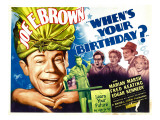When&#39;s Your Birthday, 1937 Poster