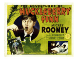 The Adventures of Huckleberry Finn, 1939 Poster
