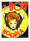 Hoopla, Clara Bow, 1933 Posters