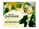 One Hour with You, Maurice Chevalier, Jeanette Macdonald, Jeanette Macdonald, 1932 Prints