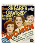 The Women, Joan Crawford, Norma Shearer, Rosalind Russell on Window Card, 1939 Photo