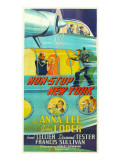 Non-Stop New York, 1937 Print