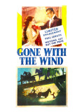 Gone with the Wind, Vivien Leigh, Clark Gable, 1939 Print