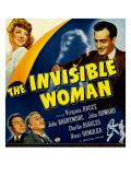 The Invisible Woman, Virginia Bruce, John Howard, Charles Ruggles, John Barrymore, 1940 Photo