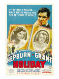 Holiday, Cary Grant, Katharine Hepburn, Doris Nolan, 1938 Photo