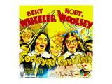 Cockeyed Cavaliers, Bert Wheeler, Thelma Todd, Robert Woolsey, 1934 Prints