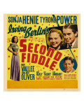 Second Fiddle, 1939 Poster
