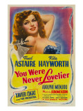 You Were Never Lovelier, Rita Hayworth, 1942 Prints