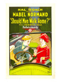 Should Men Walk Home, Creighton Hale, Mabel Normand, 1927 Prints