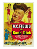 The Bank Dick, W.C. Fields, 1940 Plakater