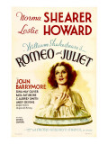 Romeo and Juliet, Norma Shearer, 1936 Print