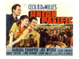 Union Pacific, Joel Mccrea, Barbara Stanwyck, Robert Preston, 1939 Posters