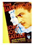 Long Lost Father, Helen Chandler, John Barrymore, 1934 Photo