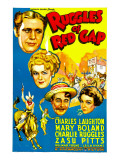 Ruggles of Red Gap, Charles Laughton, Mary Boland, Charles Ruggles, Zasu Pitts, 1935 Poster