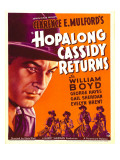 Hopalong Cassidy Returns, 1936 Prints