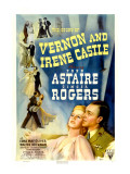 The Story of Vernon and Irene Castle, Ginger Rogers, Fred Astaire, 1939 Prints