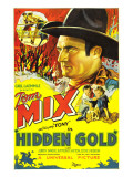 Hidden Gold, Tom Mix, Tom Mix, Judith Barrie, 1932 Prints
