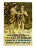 The Son of Tarzan, Kamuela C. Searle, Manilla Martan in 'Episode 6: the Killer's Mate', 1920 Photo