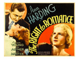The Right to Romance, 1933 Poster