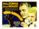 Star of Midnight, William Powell, Ginger Rogers, 1935 Posters